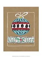 "Holly Jolly Christmas I by Chariklia Zarris - 10"" x 13"""