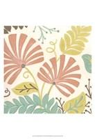 "Veranda Floral IV by June Erica Vess - 13"" x 19"""
