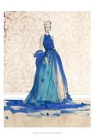 """Blue Danube I by Alicia Ludwig - 13"""" x 19"""""""