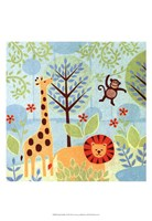Jungle Buddies Fine Art Print