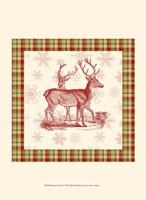 """10"""" x 13"""" Reindeer Art"""