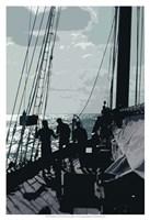 Caribbean Vessel II Fine Art Print
