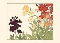 Small Japanese Flower Garden I Fine Art Print
