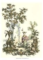 Asian Garden I Fine Art Print