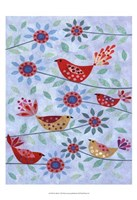Five Birds Fine Art Print