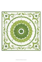 "Folk Tile III by June Erica Vess - 13"" x 19"", FulcrumGallery.com brand"