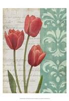 "Red Tulips by Matt Patterson - 13"" x 19"", FulcrumGallery.com brand"