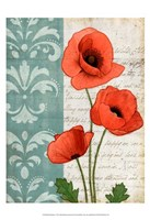 """Red Poppies by Matt Patterson - 13"""" x 19"""" - $12.99"""