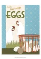Free-Range Eggs Fine Art Print