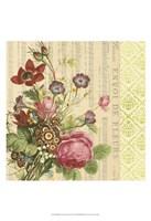 "English Garden Bouquet II by Vision Studio - 13"" x 19"""
