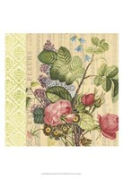 "English Garden Bouquet III by Vision Studio - 13"" x 19"""