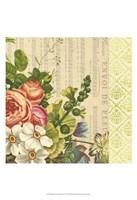 "English Garden Bouquet IV by Vision Studio - 13"" x 19"""