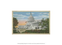 "Capitol Building, Washington, D.C. - 13"" x 10"""