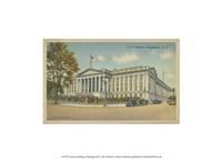 "Treasury Building, Washington, D.C. - 13"" x 10"" - $10.49"
