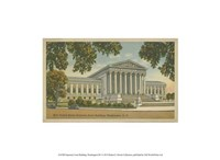 Supreme Court Building, Wash, D.C. Fine Art Print