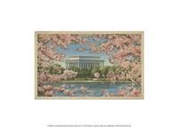 Lincoln Memorial & Cherry Blossoms Fine Art Print