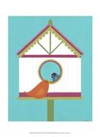 """Home Tweet Home II by June Erica Vess - 10"""" x 13"""""""
