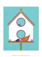 """Home Tweet Home III by June Erica Vess - 10"""" x 13"""""""