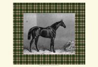 Equestrian Plaid I Fine Art Print