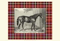 Equestrian Plaid III Fine Art Print