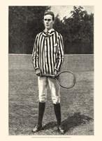 """Harper's Weekly Tennis III - 10"""" x 13"""""""