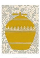 Pottery Patterns II Framed Print