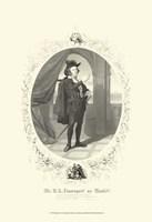 Hamlet - oval Fine Art Print