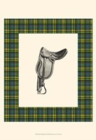 Saddle and Plaid II Fine Art Print