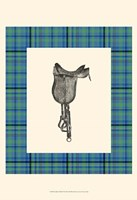 Saddle and Plaid IV Fine Art Print