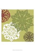 """Winter Lace II by June Erica Vess - 13"""" x 19"""""""