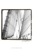 "Undersail II by Laura Denardo - 13"" x 19"", FulcrumGallery.com brand"