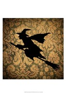 """Witch & Damask by Vision Studio - 13"""" x 19"""""""