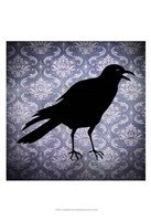 "Crow & Damask by Vision Studio - 13"" x 19"" - $12.99"