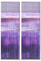 "2-Up Purple Rain II by Erin Ashley - 13"" x 19"""