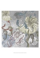 """Seahorse Collage II by Andy James - 13"""" x 19"""""""