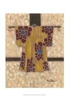 """Primary Kimono II by Karen Deans - 13"""" x 19"""""""
