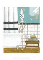 """Classic Bath I by Chariklia Zarris - 10"""" x 13"""", FulcrumGallery.com brand"""