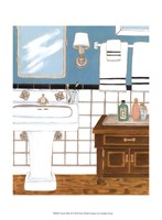 """Classic Bath II by Chariklia Zarris - 10"""" x 13"""", FulcrumGallery.com brand"""