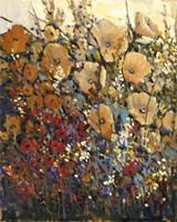Bright & Bold Flowers I Framed Print
