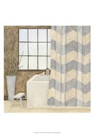Patterned Bath II Fine Art Print