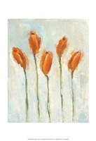 Painted Tulips III Fine Art Print