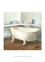 Porcelain Bath II Framed Print