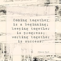Coming Together Fine Art Print