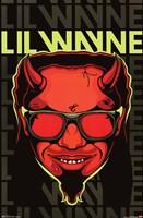 """Lil Wayne - Devil - 22"""" x 34"""""""
