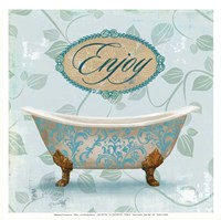 Enjoy Bath Fine Art Print