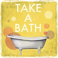 Take a Bath Fine Art Print