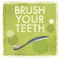 Brush your Teeth Fine Art Print