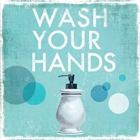 Wash your Hands Fine Art Print