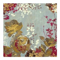 """Golden Roses I by Aimee Wilson - 19"""" x 19"""" - $16.49"""