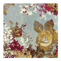 """Golden Roses II by Aimee Wilson - 19"""" x 19"""" - $16.49"""